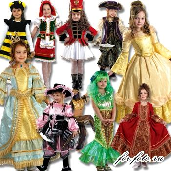 Карнавальные костюмы для девочек №2 | Шаблоны PSD / Для ... - photo#17